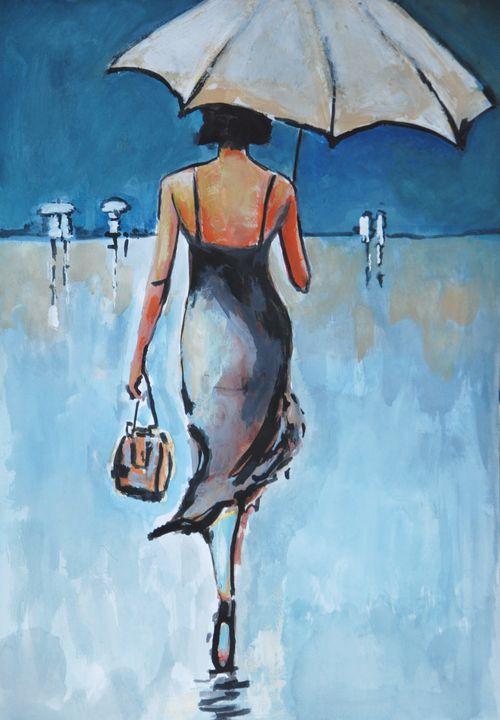 Rainy day #2 - Alexandra Djokic