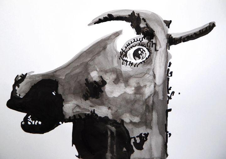 Donkey / 42 X 29.7 cm (2019) - Alexandra Djokic