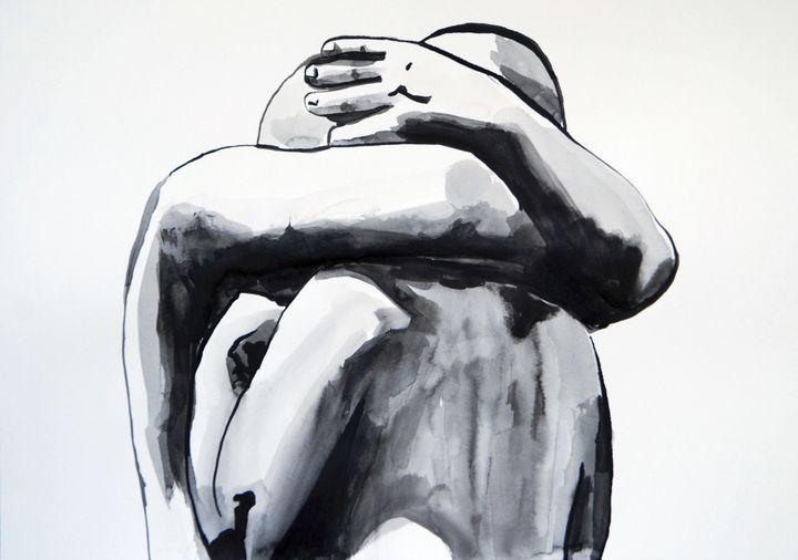 Hug #3 ID / 42 X 29.7 cm (2019) - Alexandra Djokic