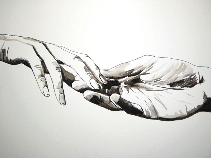 Touch / 50.5 x 37.7 cm (2019) - Alexandra Djokic