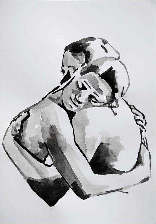 Artist's description: Ink on paper ( - Alexandra Djokic