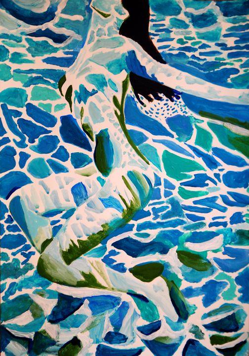 Underwater AP 1 / 42 x 29.7 cm - Alexandra Djokic