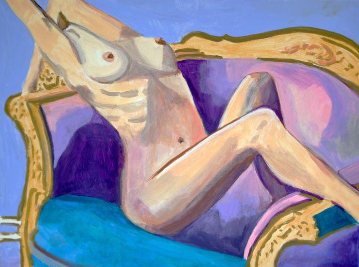 Nude AP #2 / 65 x 50 cm (2019) - Alexandra Djokic
