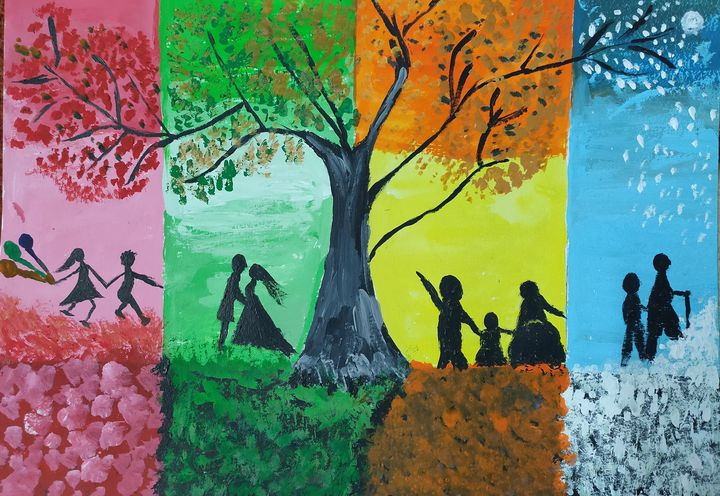 Journey of Life - Harsha's Paintings