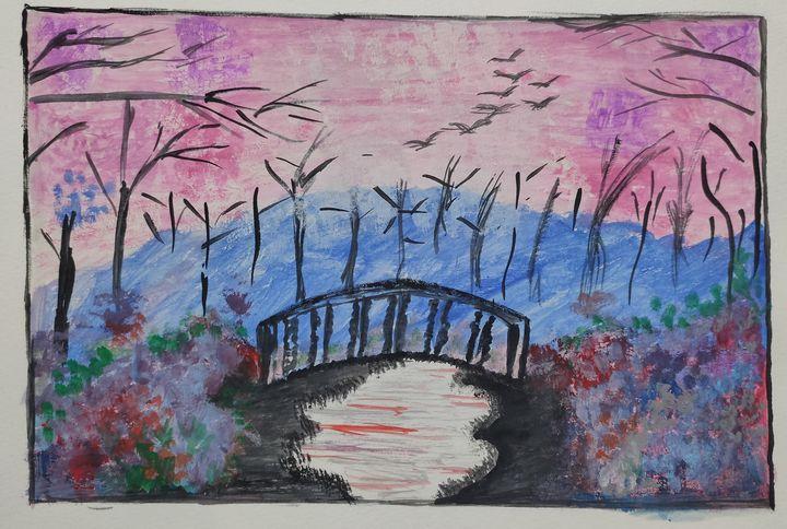 Scenery - Harsha's Paintings