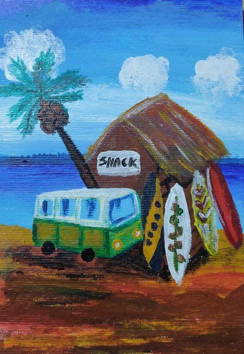 Shack - Harsha's Paintings