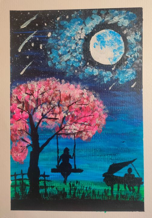 Song of Love - Harsha's Paintings