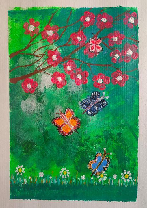 Butterflies - Harsha's Paintings