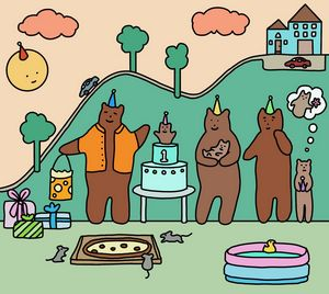 Baby Bear's Birthday
