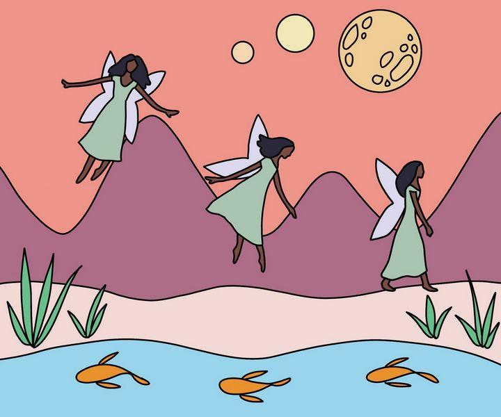 Moon Fairy - Emma Bentley