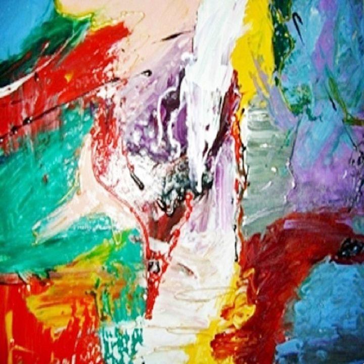Apotheosis - Darielle PUCCINI Artiste Peintre Contemporain