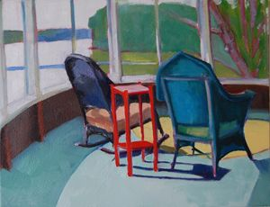 the red table 14x18