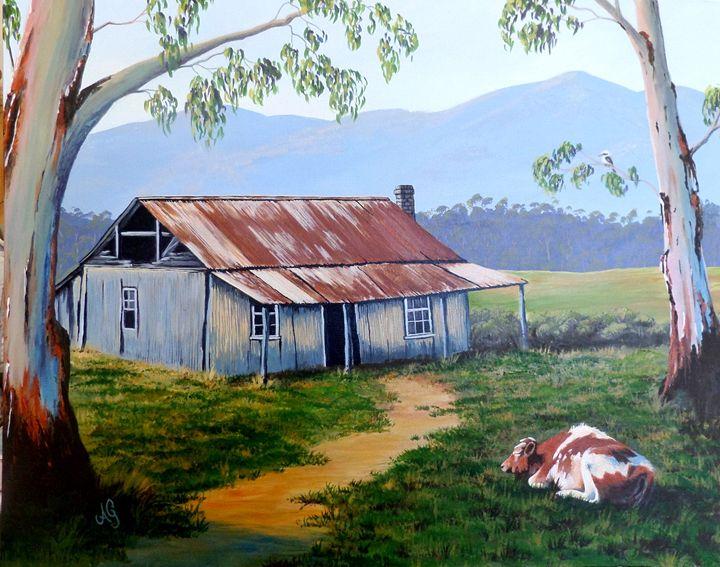 Even cows dream - Annies art