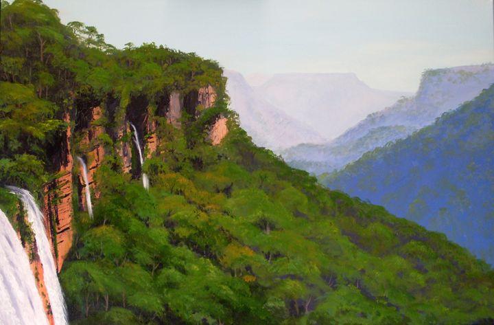 Fitzroy Falls - Annies art