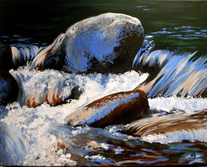 River stones - Annies art