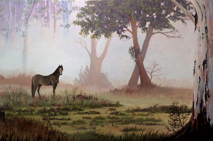 Morning mist - Annies art