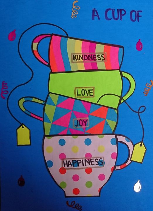 Love for cups - Amna Yusuf