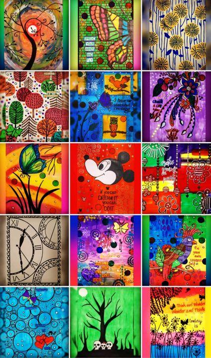 Collage - Amna Yusuf