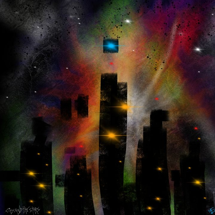 City and the Stars - Mike Farrell-Deveau - Artist