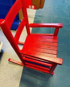Tiny tots custom reading chair - Beginnings of life