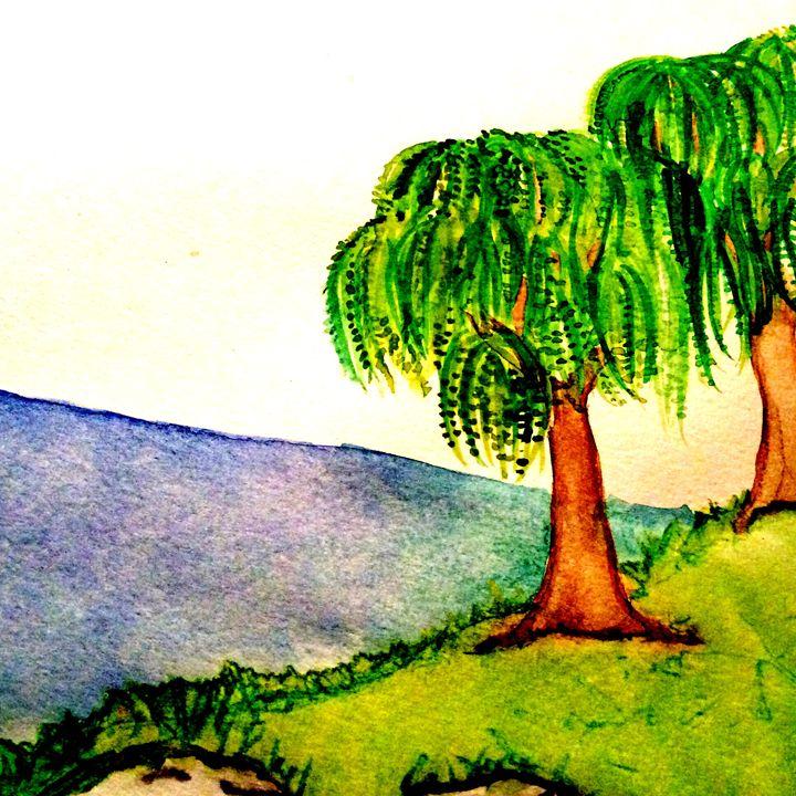 Weeping willows - Sherry Sheldon