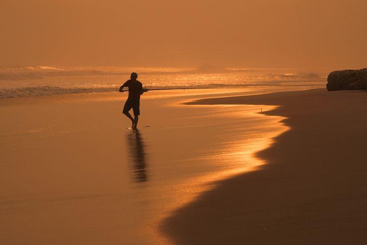 Sunset fisherman - suekeastphotos
