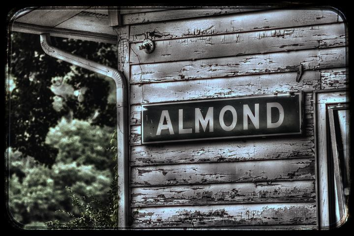 Almond NC Depot - Great Smokies Photos