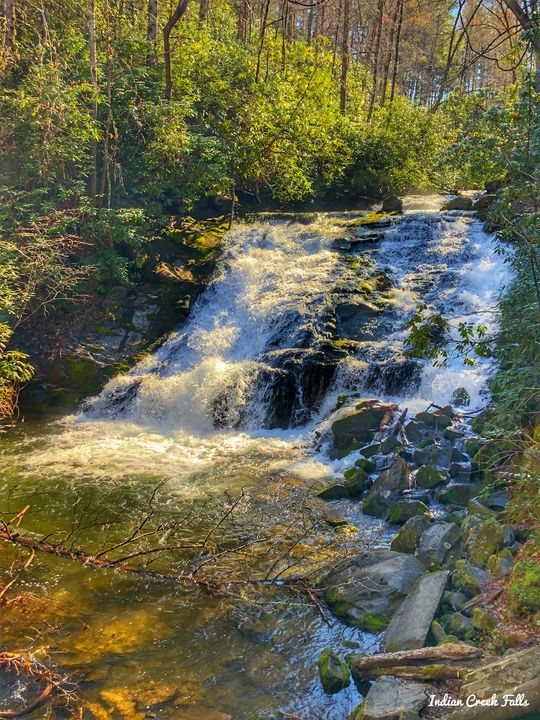 Indian Creek Falls - Great Smokies Photos