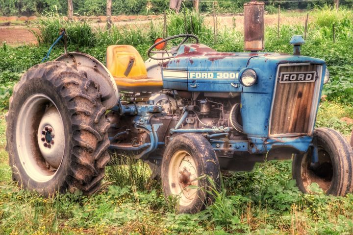 Old Ford - Great Smokies Photos