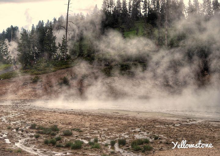 Yellowstone Steam - Great Smokies Photos