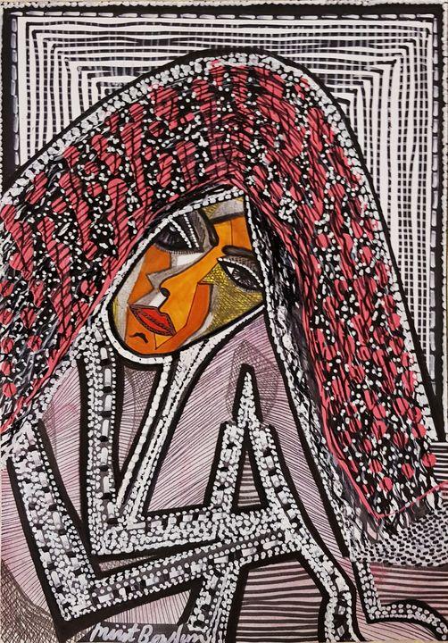 Selling authentic drawings Israel - Mirit Ben-Nun