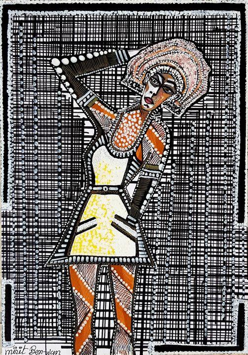 Painters from Israel sale drawings - Mirit Ben-Nun