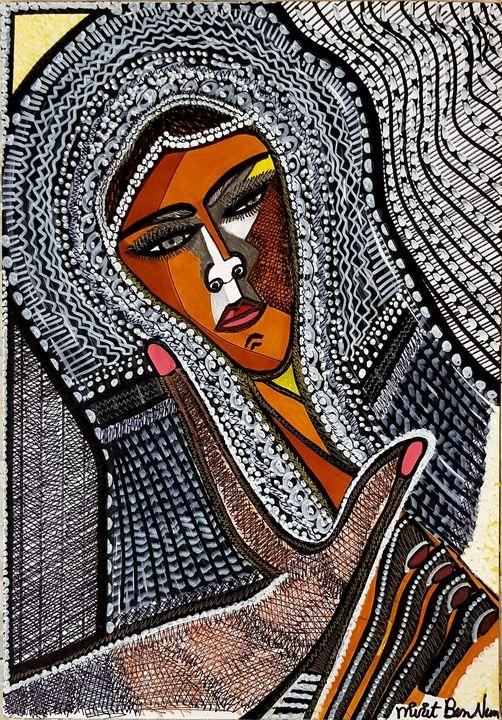 Woman painter selling art Israel - Mirit Ben-Nun