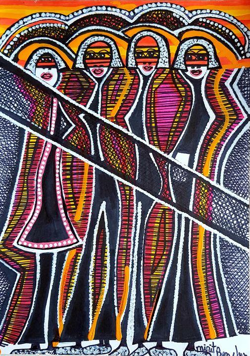 Painters from Israel selling artwork - Mirit Ben-Nun