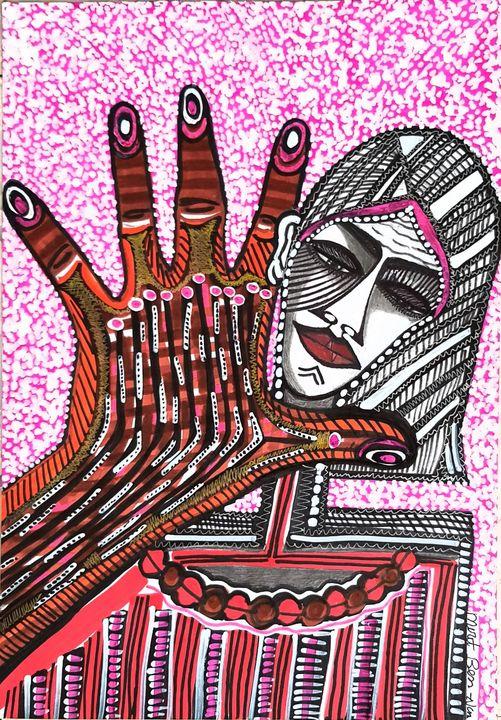 Israeli women modern painters - Mirit Ben-Nun