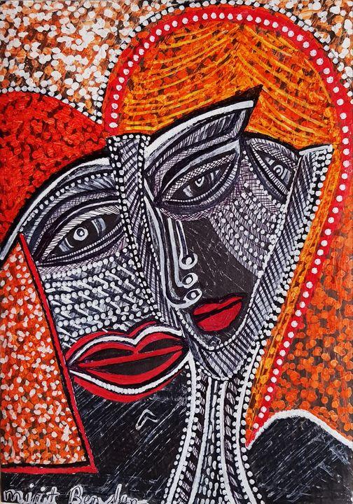 Women jewish painters drawings - Mirit Ben-Nun