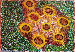 Flores galeria arte artista israeli