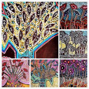 Flowers collage artwork jew artist