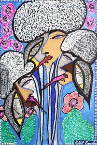 Psychedelic artwork israeli artist