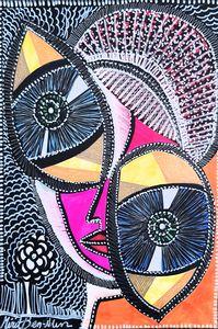 Psychedelic drawings israeli artist