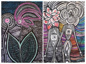 Pinturas de parejas Mirit Ben-Nun
