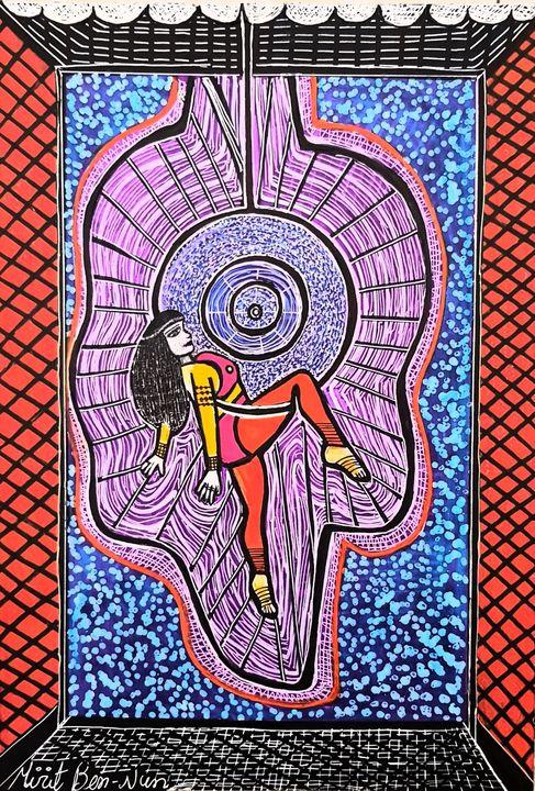Israel artist contemporary paintings - Mirit Ben-Nun