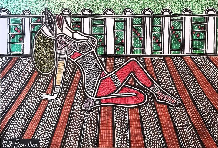 Artist Israel painters jewish artist - Mirit Ben-Nun
