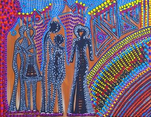 Israeli contemporary paintings