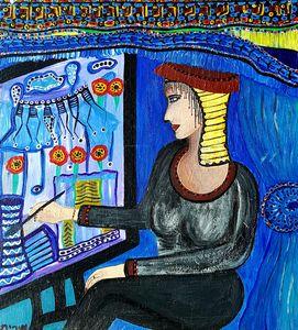 Israeli contemporary female art
