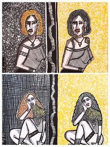 Visual artistic painters Israel