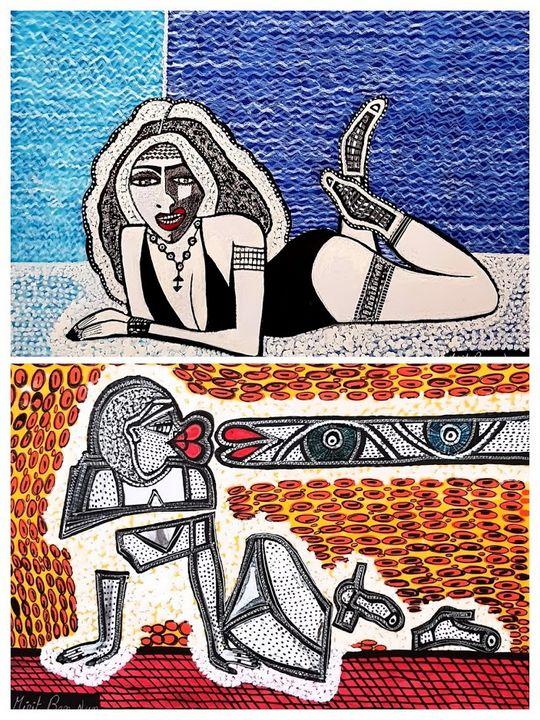 Mirit Ben-Nun modern israeli painter - Mirit Ben-Nun