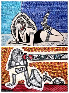 Mirit Ben-Nun modern israeli painter