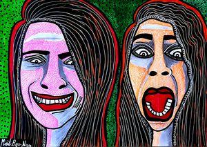 Visual artistitic paintings Israel