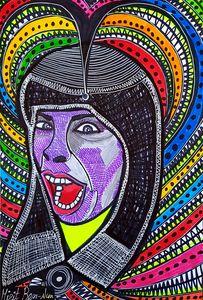 Portrait art israeli modern painter
